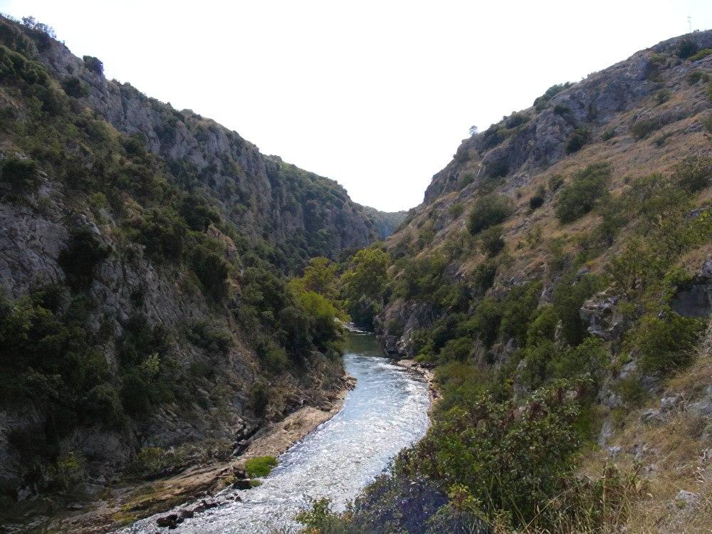 каньон Ангинити, Греция
