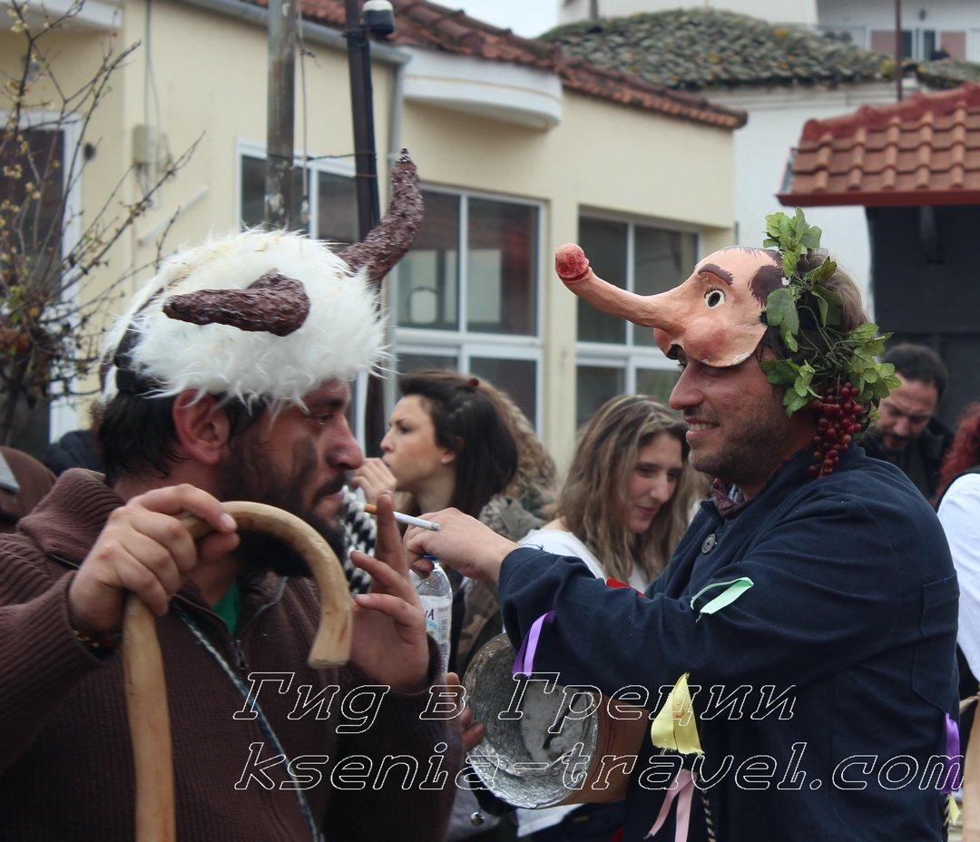 фаллический карнавал в Греции