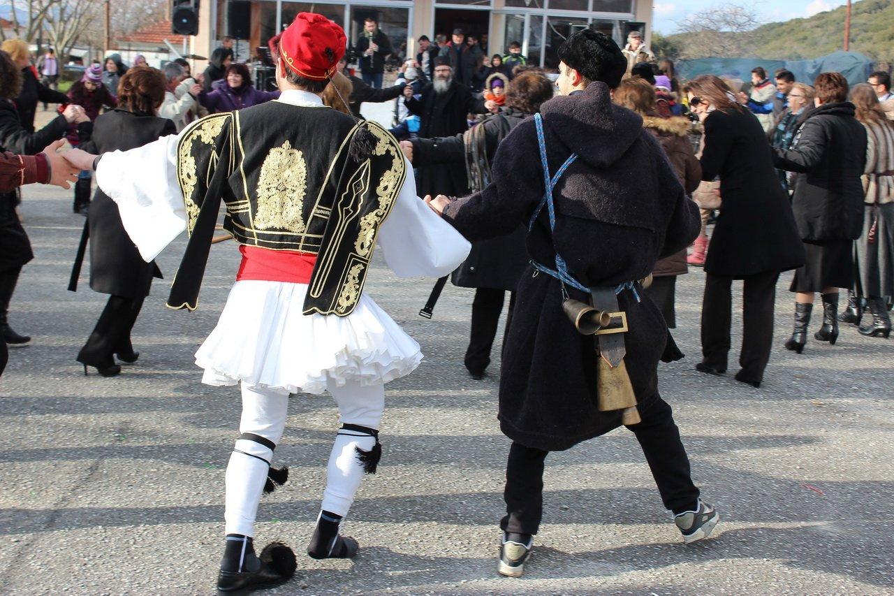 праздник Фотари, Греция
