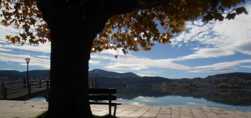 озеро Орестиада, Касторья, Греция