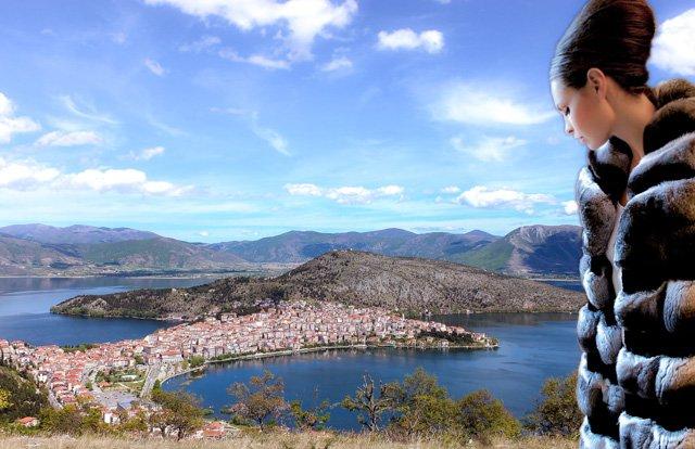 Покупка шубы в Греции