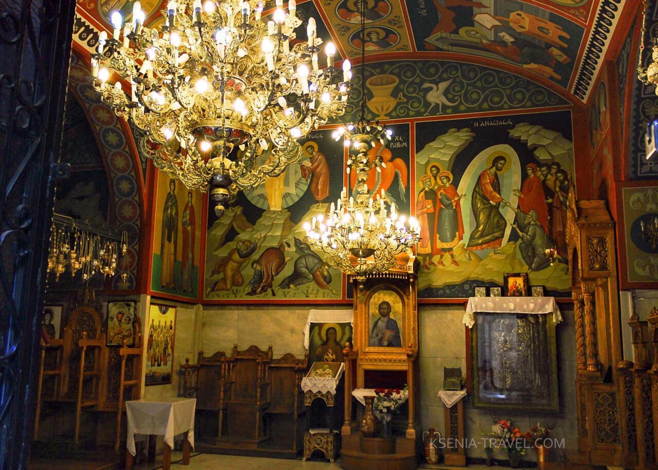 церковь святой Параскевы, Греция