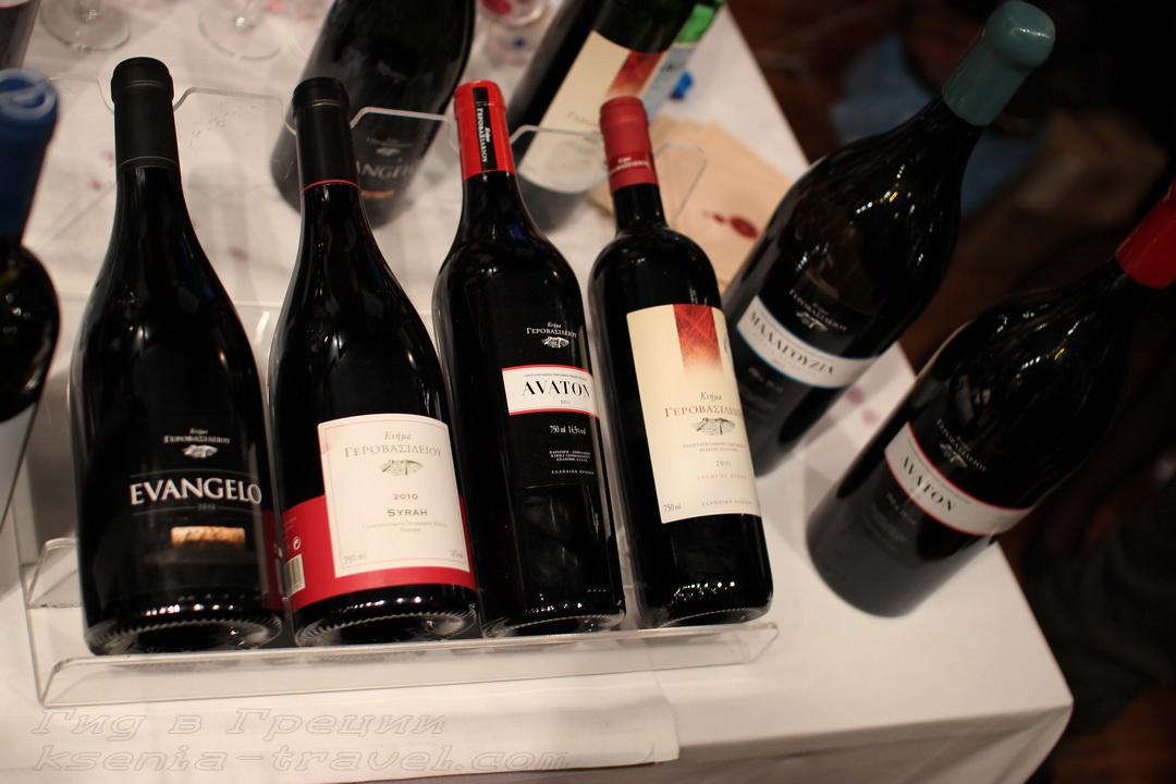вино в Салониках, Греция