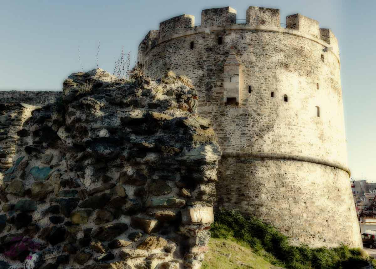 Башня Тригониу, Ано поли, Салоники
