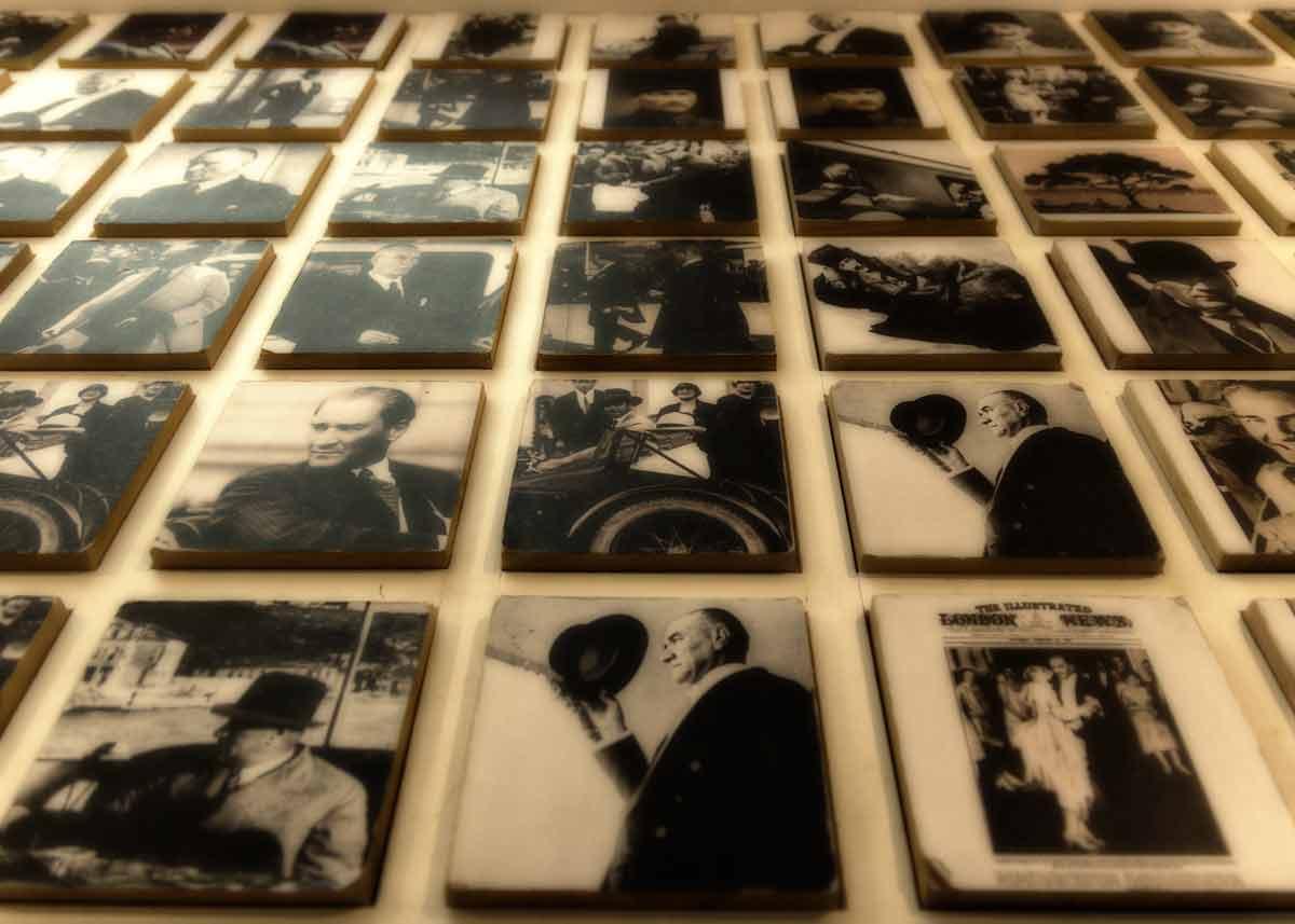 в музее Мустафы Ататюрка