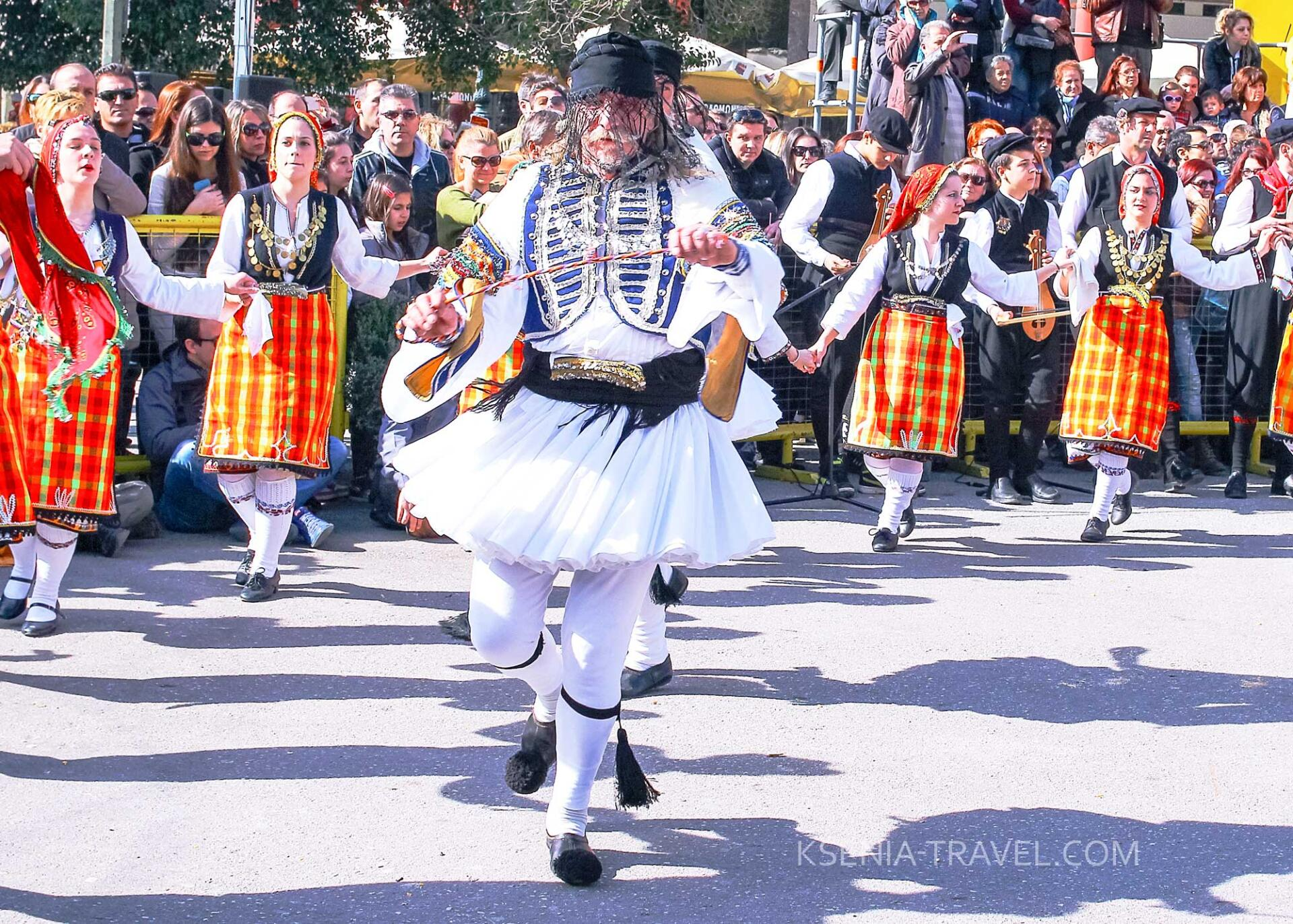 Праздник Кудунофори в Салониках