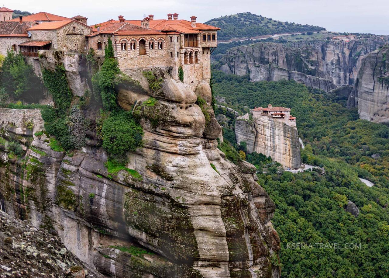 Монастыри Мететоры Греция