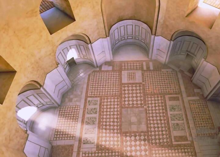 Октагон дворца императора Галерия