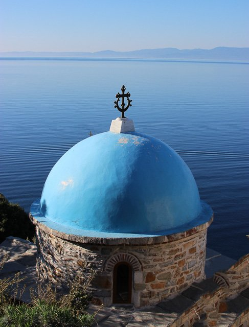 паломничество на Афон, Греция