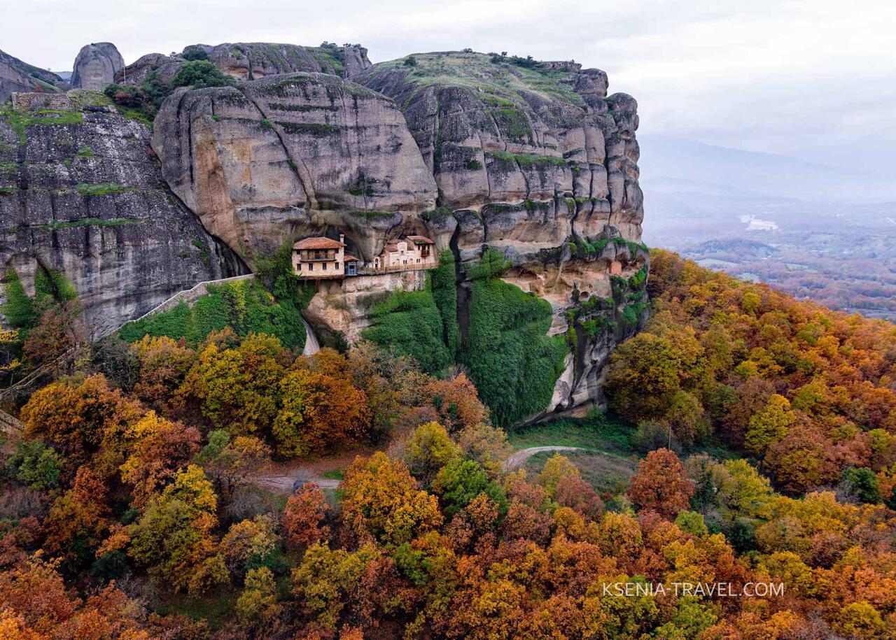 Монастырь Сретения Христова в Метеорах