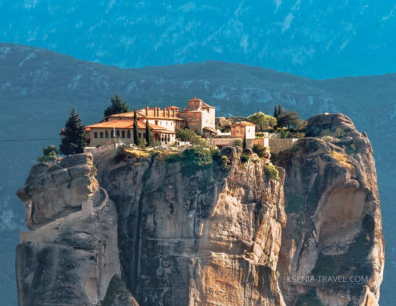 Метеоры, Греция, монастырь Троицы