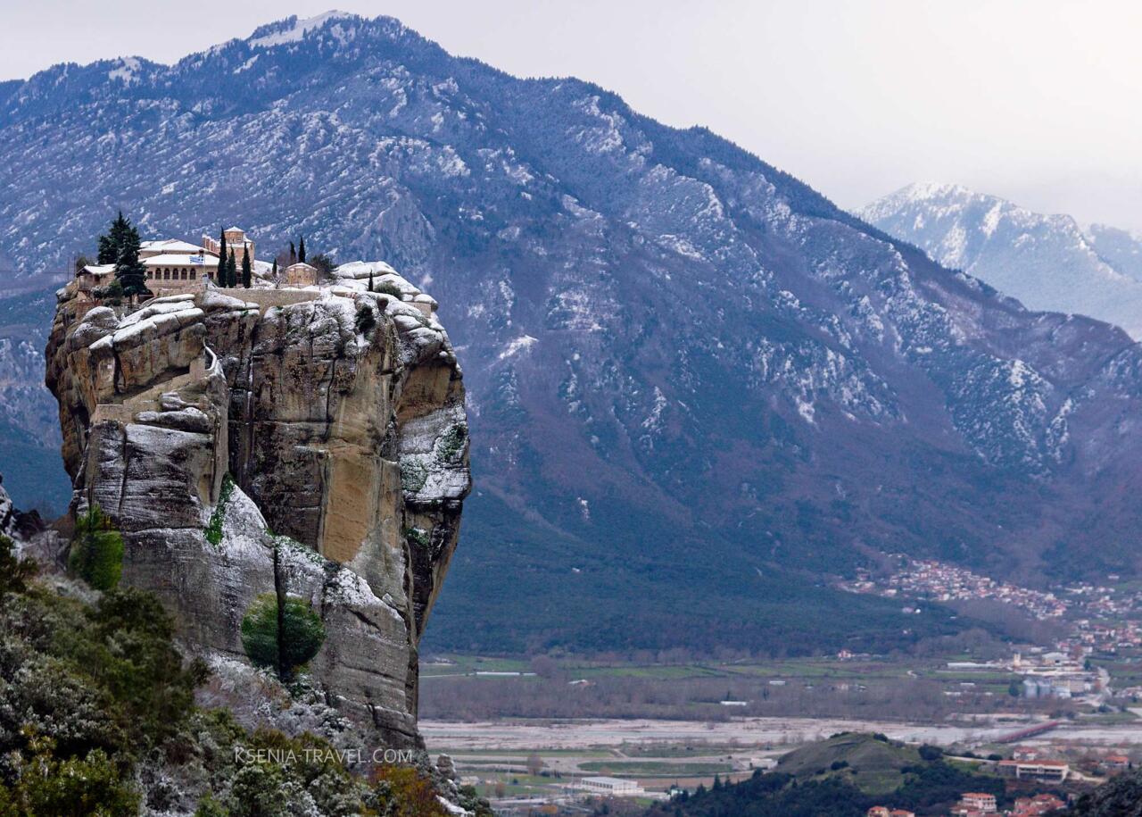 Метеоры Греция, монастырь святой Троицы