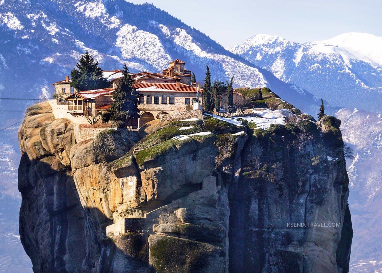 Экскурсия в Метеоры, монастырь святой Троицы