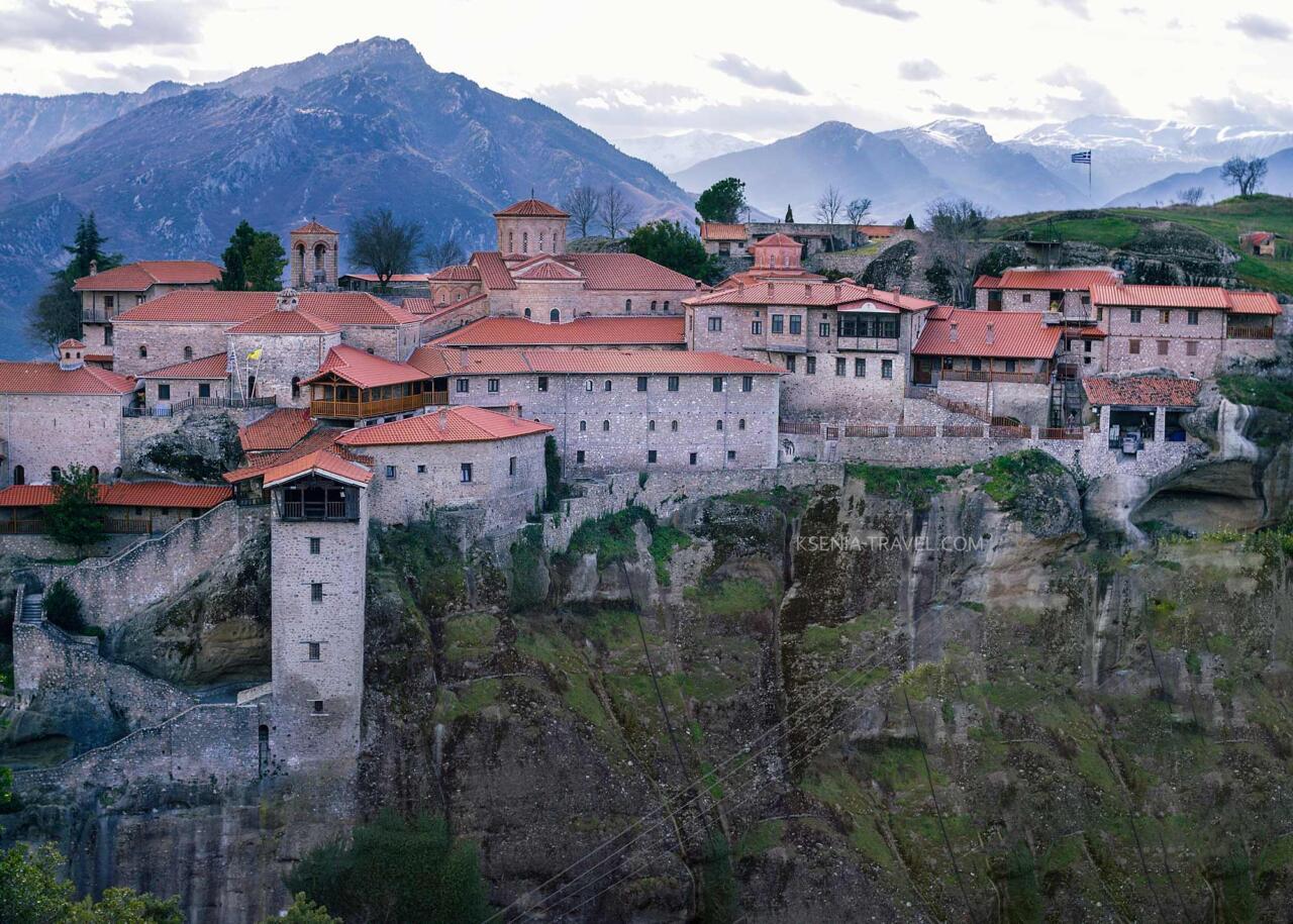 Монастырь Большой Метеор (Преображения), Греция