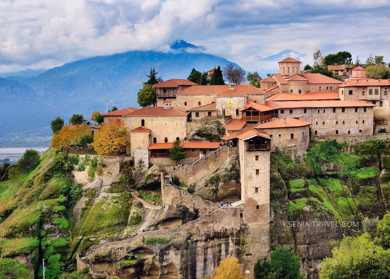Монастырь Мегала Метеора (Большие Метеоры), Греция