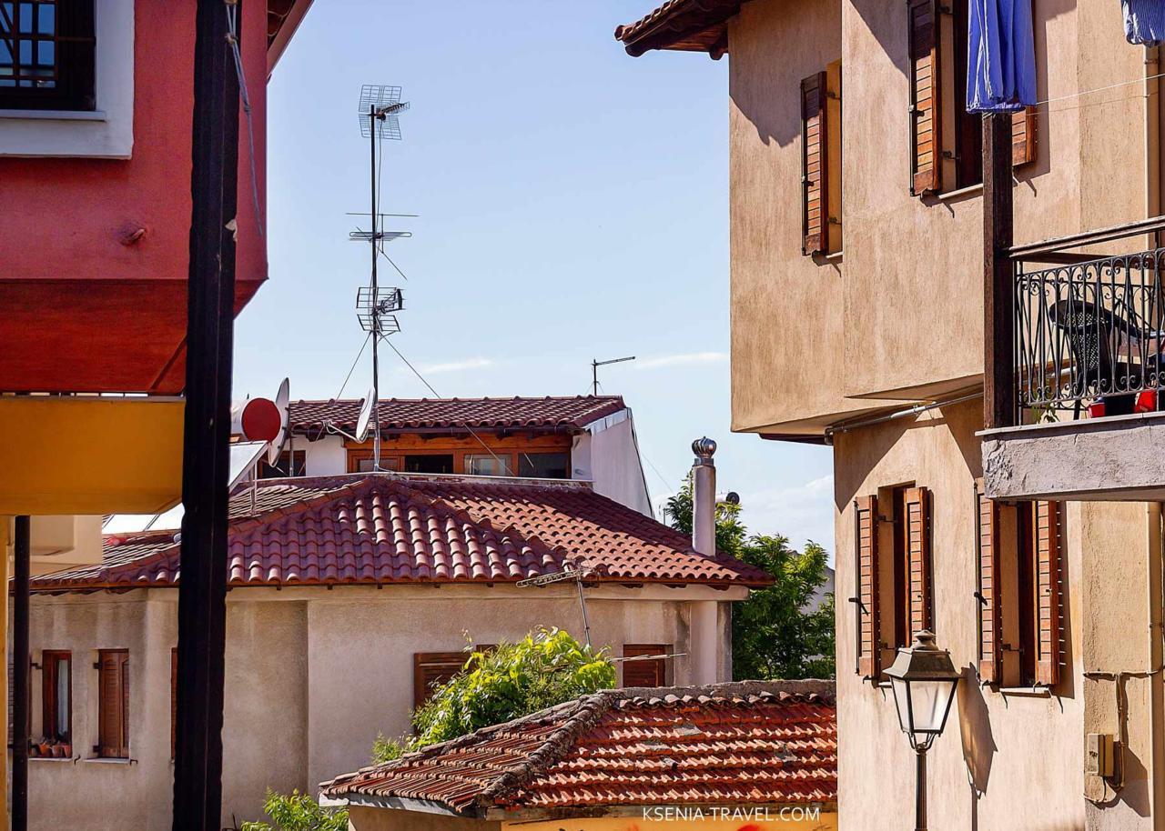 дома района Ано Поли в Салониках