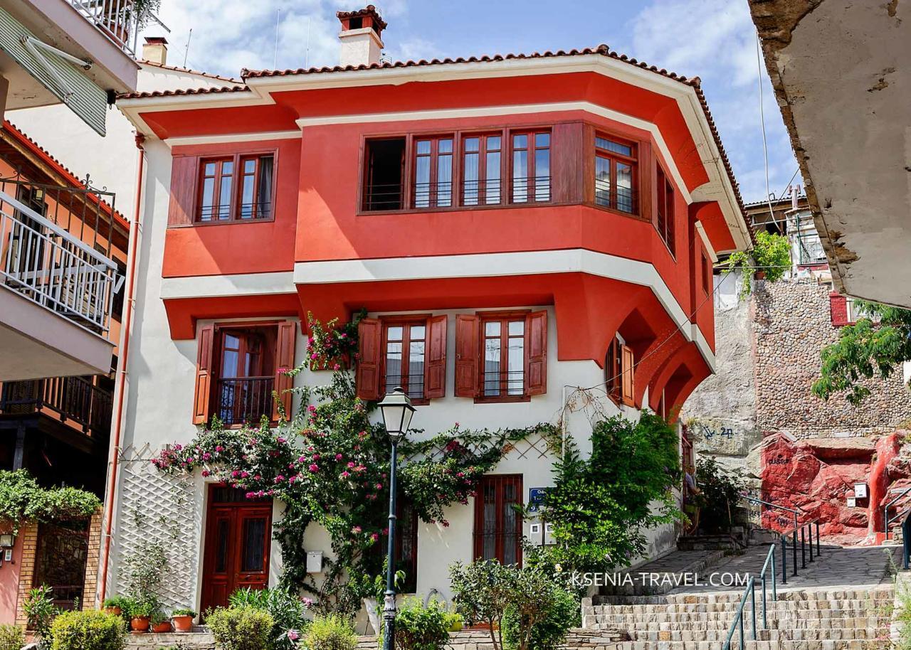 дома традиционной балканской архитектуры в Салониках, Ано Поли