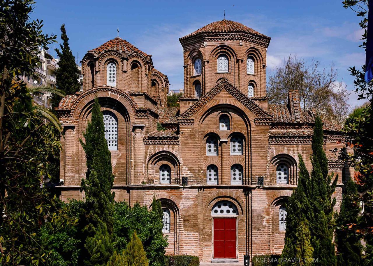 Церковь Панагии Халкеон