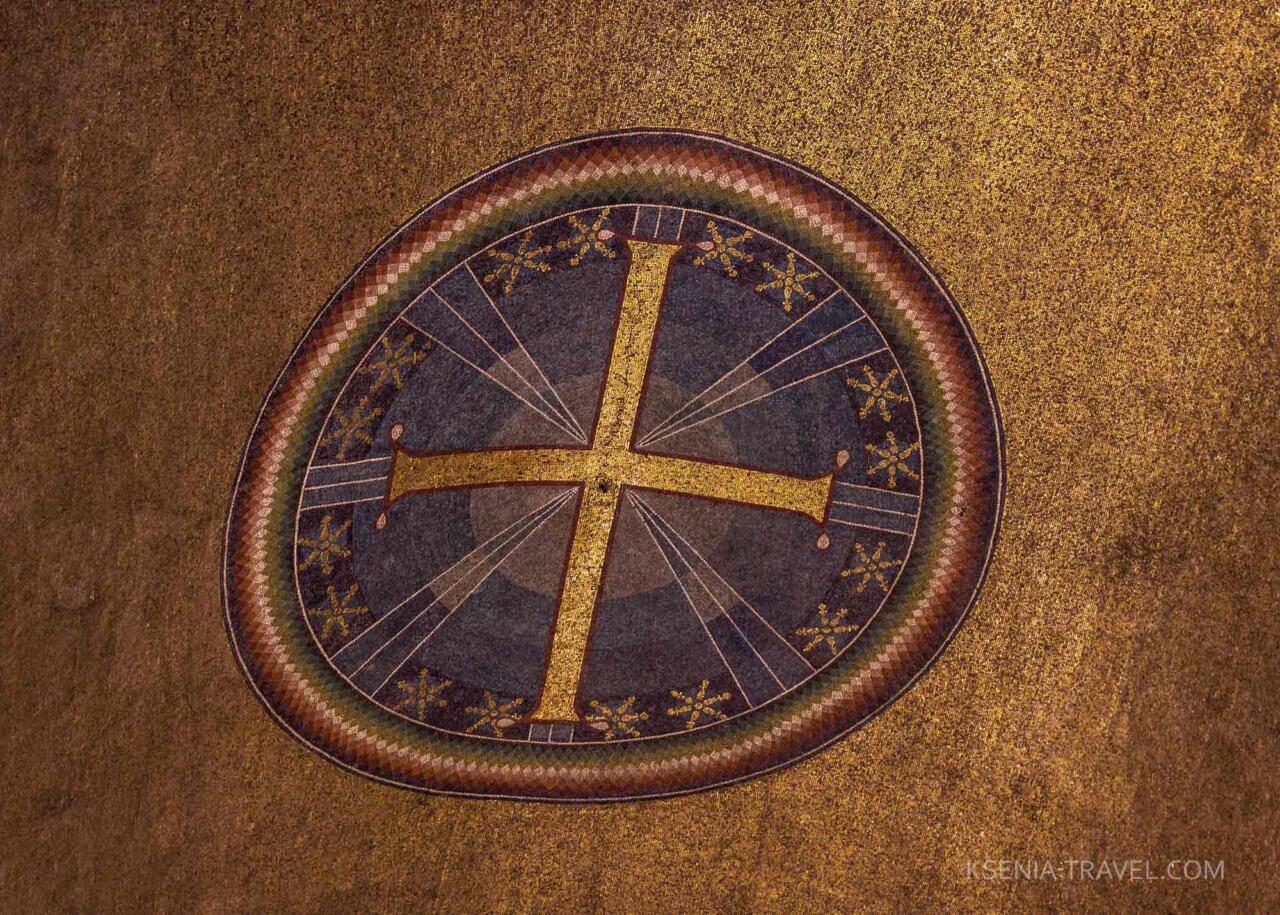 Мозаика храма Святой Софии, Салоники