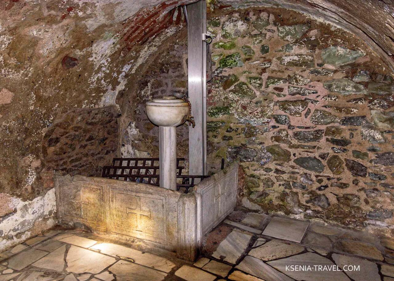 Катакомбы Святого Иоанна Крестителя в Салониках