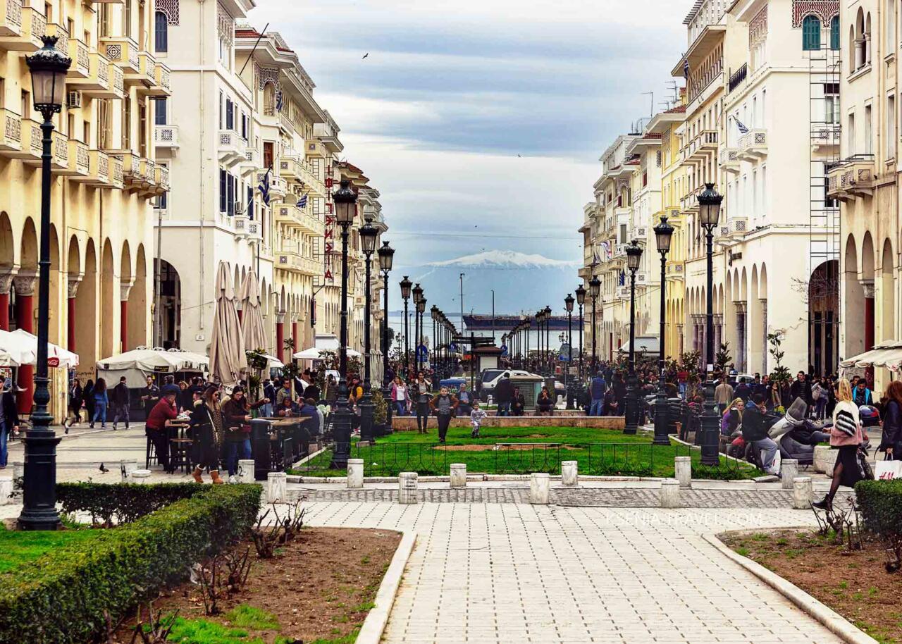 Улица Аристотеля, Салоники