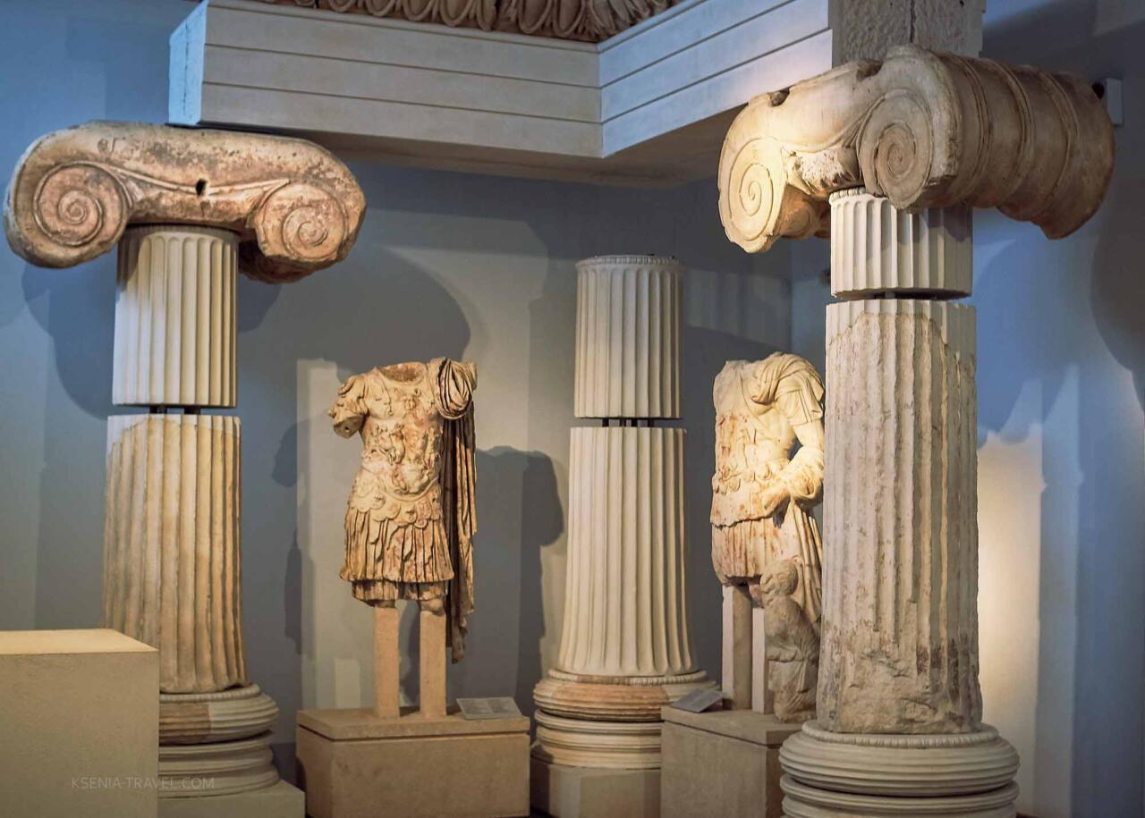 Выставка археологического музея Салоники