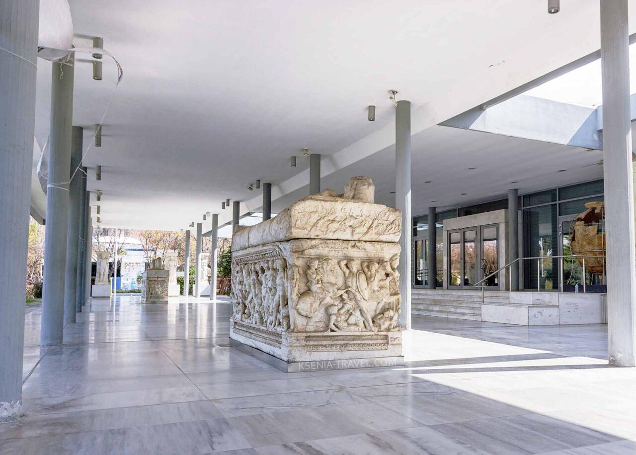 Археологический музей в Салониках, Греция