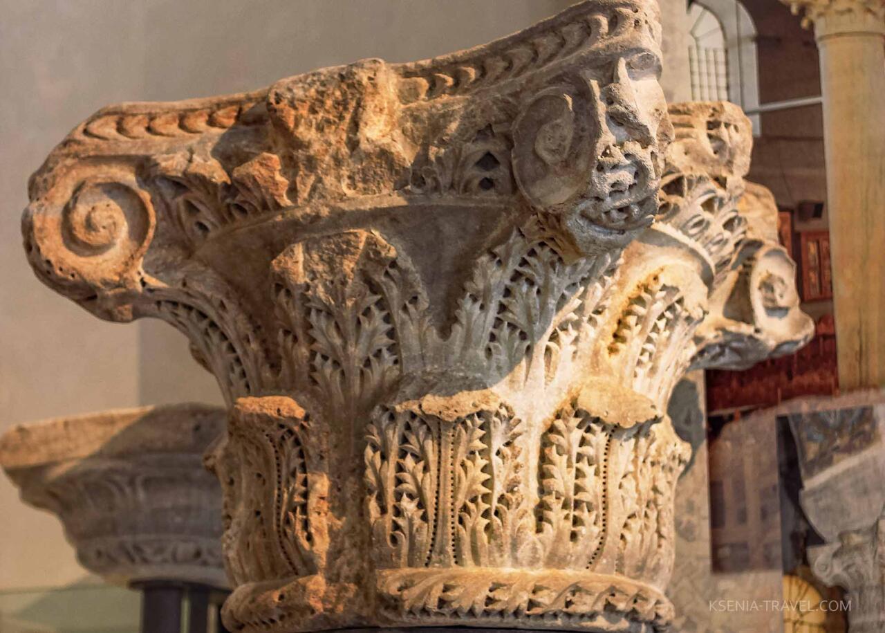 Капители колонн ранневизантийского периода