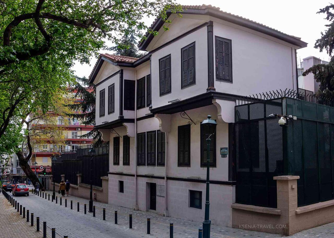 Дом-музей Ататюрка в Салониках, Греция