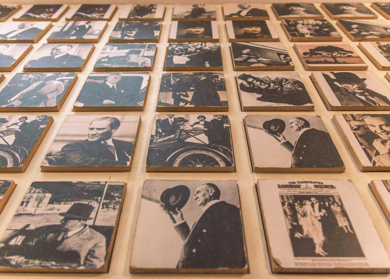 Фотографии в музее Ататюрка, Салоники