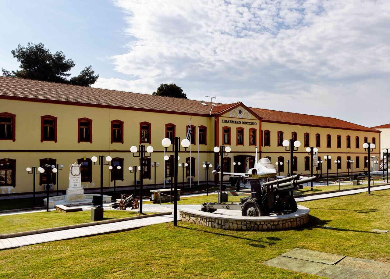 Военный музей Салоник, достопримечательности в Салониках